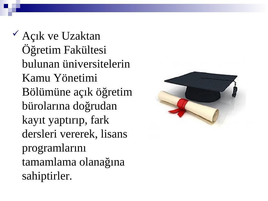 akademik sunum